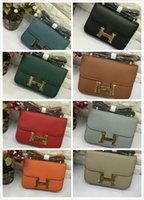 Wholesale lychee leather bag for sale - Group buy libobo6 Handbag M9980 baotou layer of leather lychee Women Top Handles Shoulder Bags Crossbody Belt Boston Bags Totes Mini Bag Clutches
