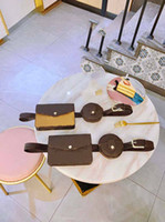 Wholesale belt flowers for sale - Group buy fannypack designer luxury purse bag L flower pieces waist bag coin purses designer flower pattern purse belt bag