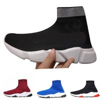 furgonetas calcetín al por mayor-luxury sock shoes Puma Asics Vans baskball shipper kanye vintage star designer gucci nmd boost cleats men women azul blanco brillo planas hombre Formadores Runner zapatillas de