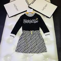 rock outfits koreanischen großhandel-Zweiteilige Outfits 2019 Anzug koreanische Mädchen Rock Kinder Mädchen Sportbekleidung Twinset Baby Kinder Kleidung Set Kurzarm Kleidung kid_show