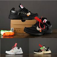 schwarze socken großhandel-Hochwertige Off Presto 2.0 All Black White Air Laufschuhe Herren und Damen Ourdoor Sportschuhe Sock Dart Designer Sneakers