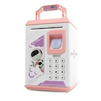 Wholesale electronic safes resale online - Mini ATM Electronic Coin Bank Smart Electronic Piggy Bank Safe with Password