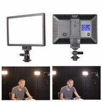 dslr camcorder großhandel-SUPON L122T LED Lampe Kamera-Videolicht Fotografie Studio Beleuchtung 3300 ~ 5600K für Foto-DSLR-Kamera Camcorder Mini-DVR