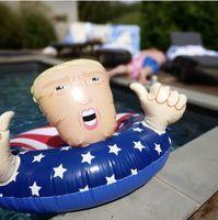 bague de jeu achat en gros de-Trump Swing Ring flotteurs gonflables siège de flotteur GGA1961 de coussins gonflables de plage de jeu de plage de l'eau de jeu d'épan
