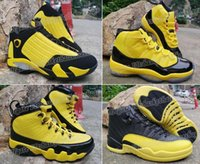 Wholesale basketball shoes shipping for sale - Group buy 11s Bumblebee s s s Yellow Black With Box Best Quality Basketball Shoes Men Size With Box Bsb