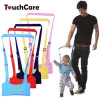 correa de bebé niño pequeño al por mayor-Caminar gancho infantil correa ajustable Correas bebé Aprendizaje Ruta Asistente de seguridad del niño de la correa del arnés de protección