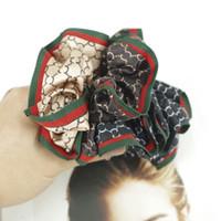 midilli kauçuk toptan satış-7 Stilleri Sıcak Kırmızı Yeşil Şerit Moda Saç Lastik Bant Elastik Marka Tasarımcıları Midilli Kuyruk Tutucu Luxurys Marka Saç Aksesuarı hediyeler