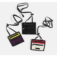 loja de moda logo venda por atacado-18FW BOX LOGOTIPO Moda Minúsculo Saco de Ombro Das Mulheres Dos Homens de Compras de Viagem Pequeno Pacote Prático Sacos de Cintura Saco Bolsa HFTTBB026