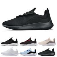 zapatos de tenis de calidad al por mayor-2019 VIALE Olympic London 5 5s Zapatillas de correr Hombres Mujeres de calidad superior Negro Blanco Azul Diseñador Zapatillas de deporte Zapatillas de deporte Zapatos 36-45