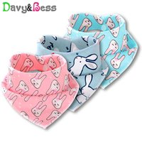 Wholesale baby drool scarf resale online - Davy Bess Cotton Baby Bibs Waterproof Bandana Bib for Baby Scarf Feeding Children s Burp Cloth Apron Infant Drool Slab Boy