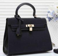totes do couro bolsas venda por atacado-Moda Luxo Designer Mulheres Sacos de luxo designer bolsas bolsas Lady H K Totes Couro Genuine Leather Shoulder Crossbody Marca Bag