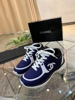 Wholesale women's running shoes for sale - Group buy 2020 luxury designer chanel CC Men s and women s casual sports shoes luxury and comfortable basketball tennis running shoes
