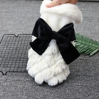 ingrosso vestiti di oem-2019 Estrella Lady's Pet Dresses Abiti Bow Dresses Pretty Lady Fashion Style Dog Clothes Spedizione gratuita OEM è il benvenuto