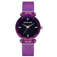 Wholesale korean magnets resale online - Korean version new ladies and students lazy watch Douyin star women s watch iron magnet watch