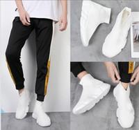 europa zapatos deportivos al por mayor-calzados informales unisex 2019 de París Europa y Estados Unidos nuevos calcetines elásticos zapatos alta ayuda de los zapatos de los amantes del deporte 36-44