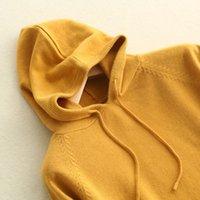 sudadera con capucha coreana cardigans mujer al por mayor-2019 nueva versión coreana suelta sudadera con capucha primavera y otoño, sudadera con capucha manga larga abrigo cardigan mujer