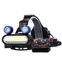 литий-ионный аккумулятор оптовых-3LED новый глаз лягушки лампы COB высокой мощности литиевая батарея зарядки обновления 3AA аккумулятор 18650 наружное освещение