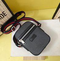 Wholesale men leather waist bag mini for sale - Group buy Classic Hot top quality mini shoulder bag for men real leather pvc crossbody Messenger bags x17 x5 cm hot fasion waist chest bag for man