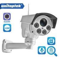 zoom-audio groihandel-HD 1080P Einschuss Wifi PTZ IP-Kamera-Audio 5X / 10fach Zoom-Objektiv CCTV-Überwachung Wi-Fi-CCTV-Kamera 2MP Outdoor Wireless Cam Onvif