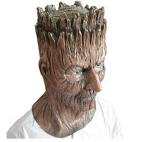 Wholesale latex rubber costume for sale - Group buy Halloween Magical Dryad Tree Rubber Masks Horror Treefolk Latex Mask Full Face Masquerade Party Costume Cosplay Props Adult Size
