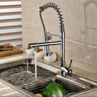 ingrosso rubinetto in ceramica filtro acqua-Rubinetti caldi e freddi del miscelatore della cucina dello spruzzatore doppio del rubinetto della cucina del rubinetto della lavello della cucina all'ingrosso-all'ingrosso e al minuto