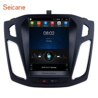 ford focus construído gps venda por atacado-Android 6.0 9.7 polegadas HD Touchscreen Car Stereo Navegação GPS para 2012-2015 Ford Focus com Suporte USB Bluetooth OBD2 Câmera Traseira Do Carro dvd