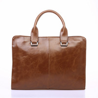 Wholesale high tablet computer online - Designer Handbag Totes High Quality PU Leather Messenger Bag Famous Brand Business Laptop Computer Tablet Handbag Briefcases Men Tote Bag