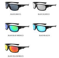lunettes de soleil achat en gros de-C0 ST Lunettes De Soleil Cyclisme Sports De Plein Air Moto Lunettes 5 Couleurs Mode Sport Lunettes De Soleil Vent Lunettes De Soleil OOA6928