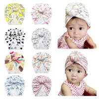 neugeborene schädelmütze großhandel-Neue Kinder Hüte Herbst Baby Baumwolle Donut Hood Kids Flamingo Pullover INS Neugeborenen Hut Beanie Skull Cap Trendy