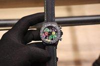 homens relógios de luxo china venda por atacado-Relógio mecânico esportes moda masculina Praça de navegação relógio temporizador China aço inoxidável Casual esqueleto tempo automático dos homens de luxo