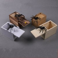 Wholesale wholesale toys for kids for sale - Rectangle Joke Tricky Toy Funny Wooden Box Animal Stress Relief Toys For Halloween Party Supplies Novelty yx BB