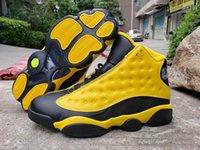 Wholesale x men 13 resale online - Men basketball shoes Yellow Bumblebee Jumpman RS X Transformes s XIII Black cheap sport designer shoe trainers sneakers