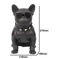 bulldog oyuncakları toptan satış-M10 Bulldog Kablosuz Bluetooth Stereo Yavru Kart instert Hoparlör Tüm Vücut Köpek Açık Çocuk Oyuncak Ses Subwoofer Toptan