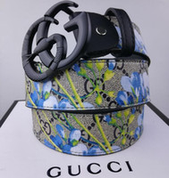 Wholesale fast belt for sale - Group buy R6 GUCCI LV Louis vuitton Elder flower belt for men and women brass belt buckle alloy belt buckle smooth buckle