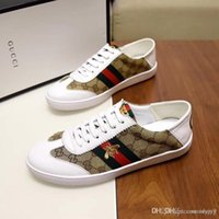 Wholesale parties tops for mens for sale – custom lisy6 High Top Black White Leather Tiger Head Embroidery Casual Shoes Party Shoes Fashion G G Luxury Sneakers for Mens Womens