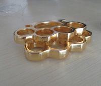bolsa de nudillos al por mayor-venta al por mayor 1 PCS (negro oro plata) 13mm LATON DE NUCHA PULSERA DE NUCROS + bolsa portátil