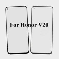 lente flexible al por mayor-2 UNIDS Para Huawei Honor V20 Reparación de la Lente de Cristal Exterior Frontal Pantalla Táctil Cristal Externo sin cable Flex Para Honor V 20 honorv20