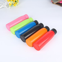 Wholesale color gift factory for sale - Group buy Plastic Glass Insulated Tumbler Double Thermal Insulation Hot Water Bottles Color Mix Creative Advertising Gift Cup Factory Outlet yfa1