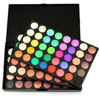 высококачественные блестящие тени для век оптовых-High quality 120 color eyeshadow and glitter matte eye shadow palette set eye cosmetics
