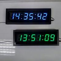 ingrosso orologio del conto alla rovescia del display principale-Ampio display da 2,3 pollici a distanza 3D LED digitale Orologio da parete Corridoio da ufficio moderno Corridoio Casa Soggiorno Decorazione Conto alla rovescia Orologi Timer Exams