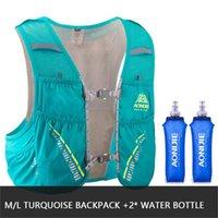 bexiga de água de nylon venda por atacado-Aonijie 5l pacote de hidratação mochila mochila colete harness bexiga de água c933 caminhadas camping correndo maratona corrida de escalada