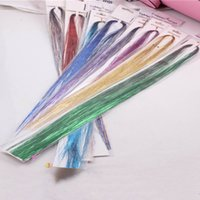 Wholesale illusions hair for sale - Group buy New Girl Personality Colorful Wig Bundle Shiny Light Colorful Children Illusion Hair Without Trace Hair Accessories