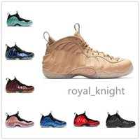 neue galaxie großhandel-Neue Ankunft Sequoia Schwarz Metallic Gold Penny Hardaway Männer Basketball Schuhe Schaum eine Alternative Galaxy OG Royal Olympic Sports Turnschuhe 41-47