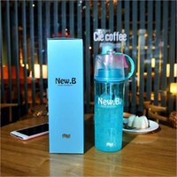 Wholesale pink carbon fibre for sale - Water Bottle ML Cycling Spray Gym Mist Sports Bottle Water for Drinking Travel Leak proof Drinking Bottle for School Packing box