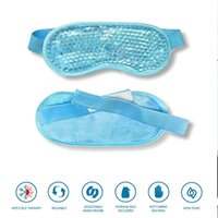 Wholesale ice pack mask eyes resale online - 2019 Gel Eye Mask Adjustable Strap for Hot Cold Therapy Soothing Relaxing Beauty Gel Eye Mask Sleeping Ice Goggles Sleeping Mask