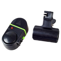 neue angelruten großhandel-Neue tragbare elektronische praktische Angelrute LED-Licht Biss locken Fisch Alarm Glocke Mode