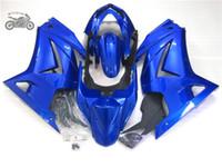 kawasaki zx 14 toptan satış-Kawasaki Ninja 250R ZX250R ZX 250 2008-2014 EX250 08-14 motosiklet yol yarışı kaporta seti için özel enjeksiyon grenaj