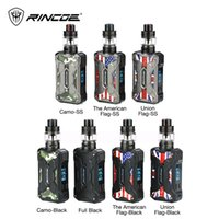 Wholesale red green drip tips resale online - Rincoe Mechman W TC Kit with Mesh Tank with Rincoe Mechman MOD Rincoe Mechman Mesh Tank drip tip compact vape