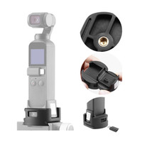 ingrosso articolazione del triangolo-OP-4 OSMO Pocket WiFi Adattatore Base treppiede per il modulo Wireless DJI OSMO Pocket Base giunto cardanico Stabilizzatore Accessori Extension