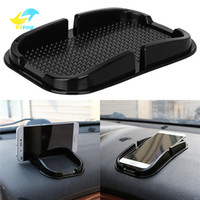 Wholesale anti grip slip pad online - Car phone holder grip Creative Design Black Car Non Slip Sticky Auto Anti Slip Dashboard Pad Mat Holder For smartphones